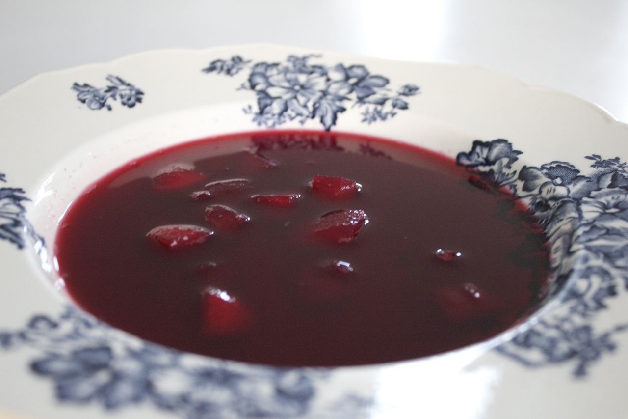 Hyldebærsuppe