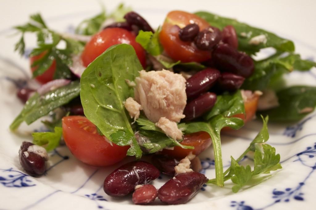 Salat med tun